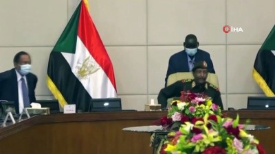 yemin toreni -  - Sudan'da kurulan geçiş döneminin ikinci hükümeti yemin etti