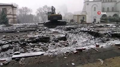 Başkent'teki bir temel kazısından insana ait olduğu düşünülen kemikler bulundu