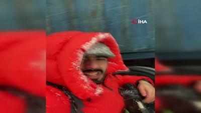 pazar gunu -  İstanbul'a yağan kar habercileri de zor durumda bıraktı