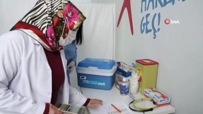 takvim -  Tatvan'da 65 yaş ve üstü aşılama çalışmaları devam ediyor