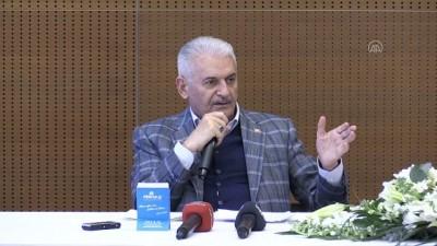 ali il - KOCAELİ - AK Parti İzmir Milletvekili Binali Yıldırım sanayicilerle bir araya geldi: