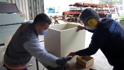 muhtarliklar -  - Bodrum Belediyesi mobilya üretimiyle tasarruf sağlıyor