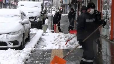kar temizleme - MUŞ - Kar yağışı