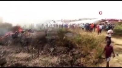 askeri ucak -  - Nijerya'da askeri uçak düştü
