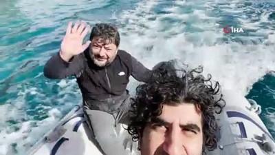 bahar havasi -  Türkiye'de kar Muğla'da yaz havasında deniz keyfi