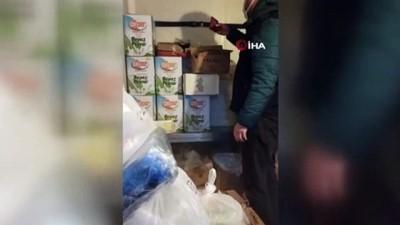 hanli -  Tuzla'da son kullanım tarihi geçmiş 70 kilo tavuk eti ele geçirildi