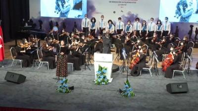 konferans - İZMİR - Depremzede konservatuar öğrencisi İnci Okan konserde yer aldı