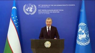 konferans - TAŞKENT - Özbekistan Cumhurbaşkanı Mirziyoyev: 'Demokratik reformlarımız yeni bir Özbekistan inşa etmeyi hedefliyor'