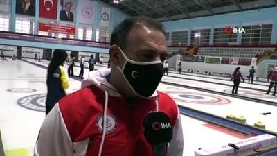 takvim - Curling Süper Lig müsabakaları 95 sporcunun katılımıyla Erzurum'da başladı