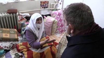 ERZURUM - Kaybolan kedisine üzülen kadın, muhabbet kuşu hediyesiyle moral buldu