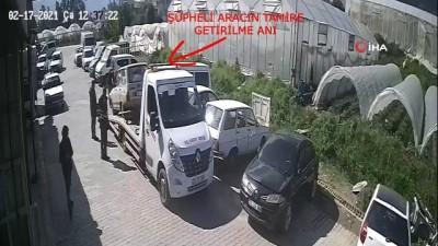 faili mechul -  Hırsızlık zanlıları kaza sonrası tamirciye gidince yakayı ele verdi Videosu