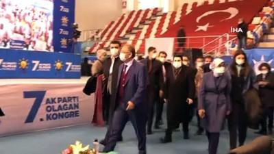 cumhurbaskani -  AK Parti İl Başkanlığı 7'nci Olağan Kongresi, AK Parti Genel Başkan Yardımcısı Özhaseki'nin katılımıyla gerçekleştirildi