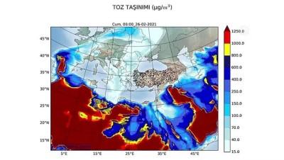 bagisiklik sistemi - İSTANBUL - Türkiye, Avrupa'dan gelecek çöl tozu etkisine giriyor