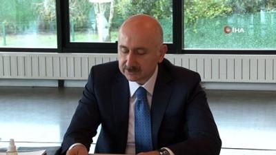 Bakan Karaismailoğlu: 'Irak ve Türkiye arasında yeni bir sınır kapısı ve demiryolu hattı önceliğimiz'