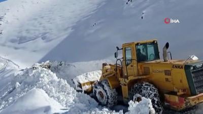 kar temizleme -  Batman'da kar yağışı nedeniyle ulaşıma kapanan köy yolları ulaşıma açıldı