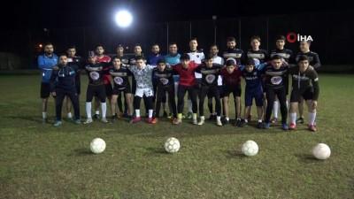 Savaş mağduru Türkmen gençler futbolla hayata tutunuyor