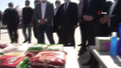 ali il -  Suriye'ye 28 tır insani yardım gönderildi