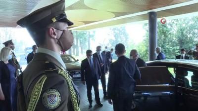 deprem bolgesi -  - Bakan Çavuşoğlu, Hırvatistan Cumhurbaşkanı Milanoviç tarafından kabul edildi