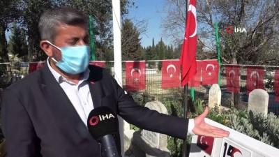 mezar taslari -  Mezarlara saldıran DEAŞ'lıların yakalanması şehit babasını sevindirdi