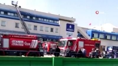 gard -  15 Temmuz Demokrasi Otogarı'nda yangın paniği