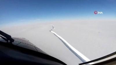 - Antarktika'da bin 270 kilometrekarelik buz kütlesi koptu