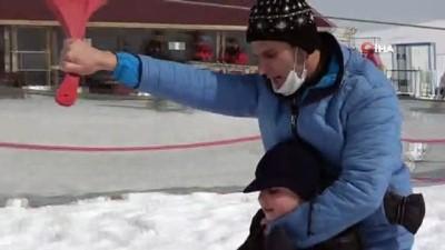 konsept -  Çaldıran termal kayak merkezi renkli bir sezon geçiriyor