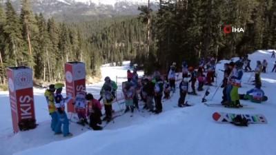 Çankırı'da Diplomatik Kayak Yarışı başladı
