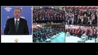 cumhurbaskanligi -  Cumhurbaşkanı Erdoğan'dan 'Yeni Anayasa' açıklaması