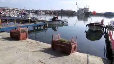 lodos -  Fırtına sonrası Marmara Denizi sütliman