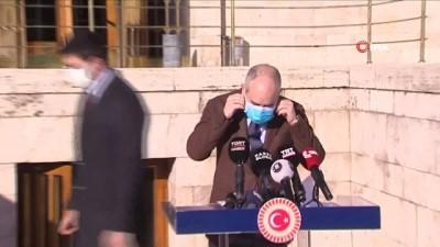 Dışişleri Komisyonu Başkanı Akif Çağatay KılıçTBMM'de açıklama yaptı