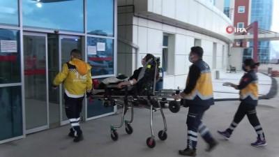 Karbon monoksit gazından zehirlenen anne ve kızı hastaneye kaldırıldı