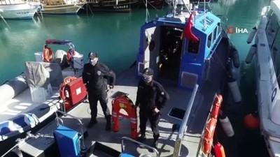 guvenli bolge -  Deniz polisi, elektronik can kurtarma simidi ile hayat kurtaracak