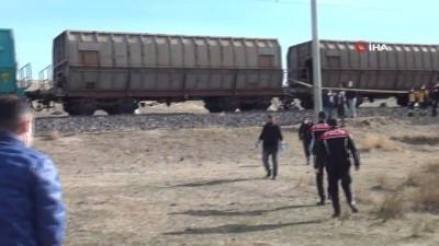 yuk treni -  Yük treninin çarptığı genç öldü