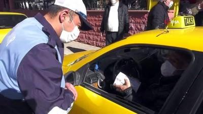 pazarci esnafi -  Ankara Büyükşehir Belediyesi esnaf ve vatandaşa hijyen desteğine devam ediyor
