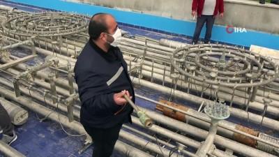 cevre temizligi -  Antalya'da dev süs havuzunun fıskiyelerini çaldılar