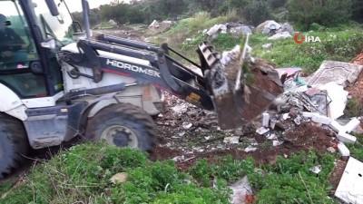 cevre temizligi -  Bodrum'da 1 günde 17 kamyon hafriyat ve çöp çıktı