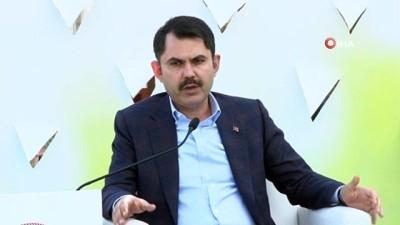 deprem bolgesi -  Çevre ve Şehircilik Bakanı Murat Kurum: 'Sıfır Atık bir tasarruf projesidir ama bazı mecralar sıfır atık projesini anlayamayacak'
