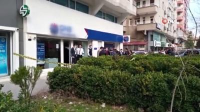 Diyarbakır'da silahlı banka soygunu girişimi