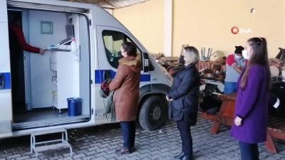 rontgen -  - Sındırgı Belediye personeline sağlık taraması