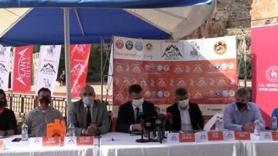 bag kur - ANTALYA - Merrell Alanya Ultra Trail'in tanıtım toplantısı yapıldı