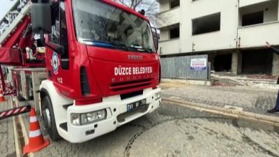 trafik sorunu - DÜZCE - Gerçeğini aratmayan yangın ve kurtarma tatbikatı yapıldı