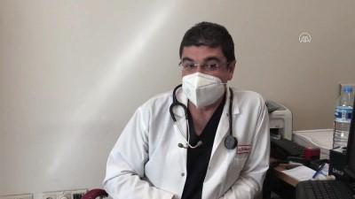 HATAY - KOVİD-19 HASTALARI YAŞADIKLARINI ANLATIYOR - Kovid-19 hastalarına şifa dağıtırken kendileri hasta oldular