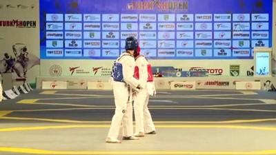 İSTANBUL - 8. Uluslararası Türkiye Açık Tekvando Turnuvası başladı