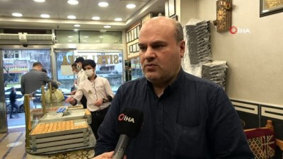 kadayif -  Diyarbakır'ın tescilli burma kadayıfına büyük rağbet