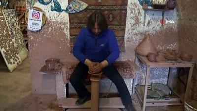Kapadokya'da 2 bin yıllık gelenek toprakla yeniden hayat buldu