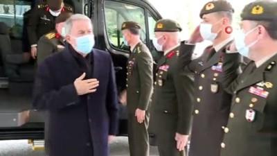 katliam -  Milli Savunma Bakanı Akar, Hocalı katliamı kurbanlarını andı