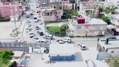 balistik -  Adana'da oto galericiler sitesine operasyon: 6 gözaltı