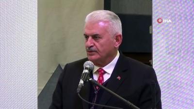 Binali Yıldırım 12 Mart İstiklal Marşının Kabulü ve Mehmet Akif Ersoy'u anma törenine katıldı.