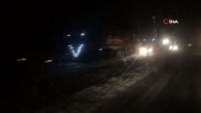 İpek geçidi kar yağışı ve tipi nedeniyle ulaşıma kapandı