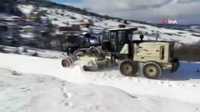 Sinop'ta 41 köy yolu ulaşıma kapandı